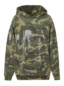 R13 All-over Embellished Hoodie