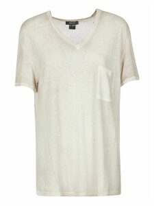 Avant Toi Loose V-neck T-shirt