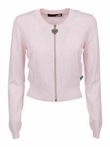 Pink Viscose Cardigan