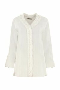 S Max Mara Gabry Blouse With Ruffles