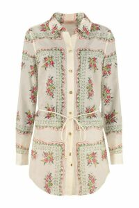 Tory Burch Silk-cotton Blend Shirt