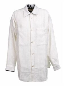 Faith Connexion Tweed Oversized Shirt