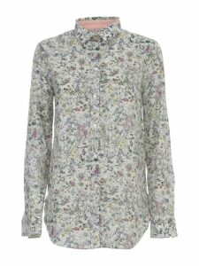 Paul Smith Shirt L/s Flowers Multicolour