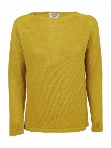 Yellow Linen Sweater