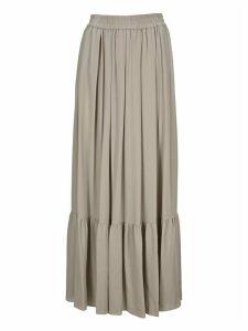 Fabiana Filippi Pleated Maxi Skirt