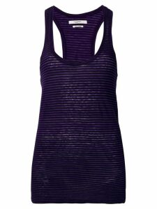 Isabel Marant Étoile U-neck fitted top - PURPLE