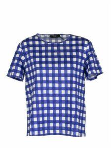 Max Mara Kuban Checked And Short-sleeved T-shirts