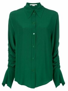 Stella McCartney ruched-sleeve shirt - Green