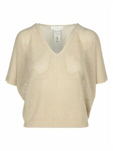 Fabiana Filippi Knitted V-neck T-shirt