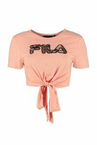 Fila Jona Logo Detail Cropped T-shirt