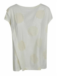 Ys Frayed Polka-dot Tank Top
