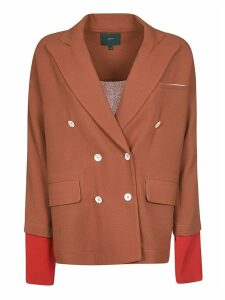 Jejia Double-breasted Layered Blazer