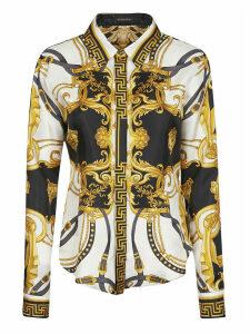 Versace Long-sleeve Printed Shirt
