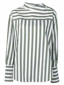 Monse striped shirt - Green