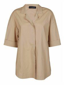 Piazza Sempione Beige Cotton Shirt