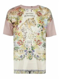 Etro Pink Cotton T-shirt