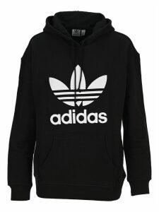 Adidas Originals Trefoil Logo Print Hoodie