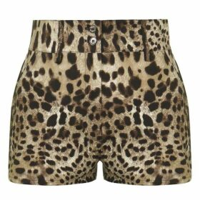 Dolce and Gabbana Leopard Print Shorts