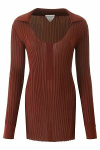 Bottega Veneta Ribbed Silk Sweater