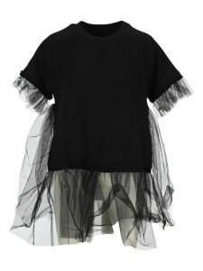Mm6 Tulle Sweatshirt