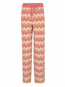 M Missoni Zigzag Long Trousers