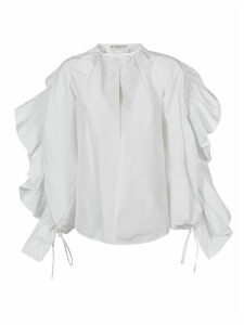 Givenchy Side Ruffled Detail Blouse