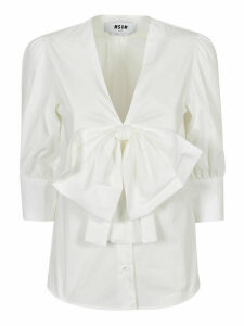 MSGM Bow Detail Blouse