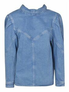 Isabel Marant Denim Buttoned Top