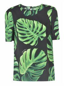 Dolce & Gabbana Leafy Print T-shirt
