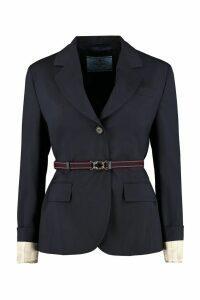 Prada Virgin Wool Blazer