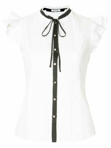 Guild Prime contrast trim shirt - White