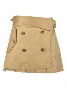 Junya Watanabe Pleated Mini Skirt