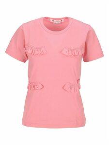 Comme Des Garçons Girl Ruffled T-shirt