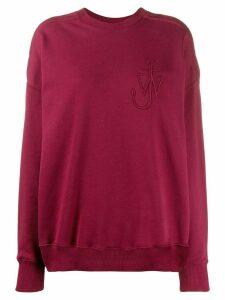 J.W. Anderson Oversized Shoulder Placket Sweatshirt
