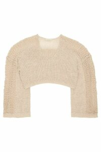 Mes Demoiselles Concha Fringed Sweater