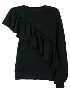 Ioana Ciolacu ruffled top - Black