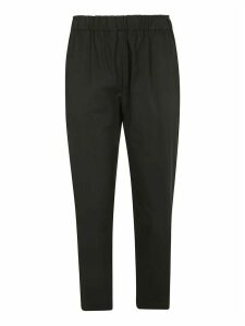 RED Valentino Rib Waist Cropped Trousers