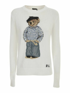 Polo Ralph Lauren Sweater Crew Neck W/teddy