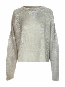 PierAntonioGaspari Laminated Sweater L/s Crew Neck