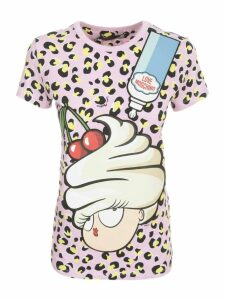 Love Moschino T-shirt S/s Animalier
