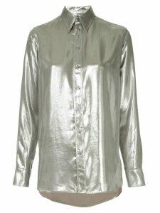 Ralph Lauren Collection longsleeved metallic shirt