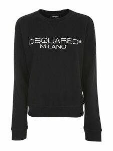 Dsquared2 Diana Fit Sweater L/s Wash W/written