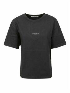 Acne Studios Centre Logo Print T-shirt