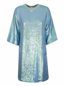 Off-White Paillettes Dress