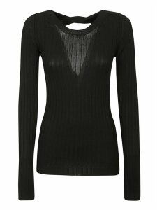 N.21 Rear Cut-out Knitted Sweater