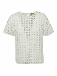 N.21 Perforated Blouse