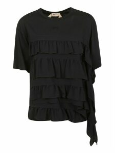 N.21 Layered Ruffle T-shirt