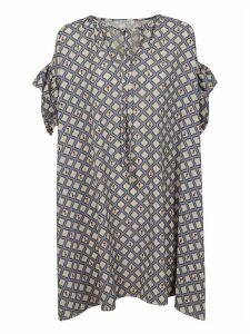 Vivetta Patterned Ruffle Dress