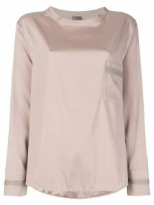 Lorena Antoniazzi long sleeve T-shirt - NEUTRALS