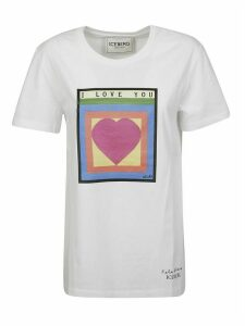 Iceberg Heart Printed T-shirt